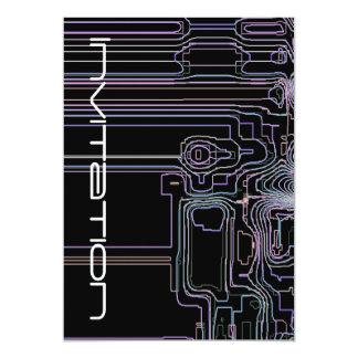 Science Technology Engineering Art 13 Cm X 18 Cm Invitation Card