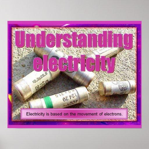 Science, Understanding electricity Poster