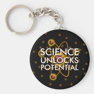 SCIENCE UNLOCKS POTENTIAL KEY RING