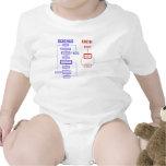 Science vs Faith Baby Bodysuits
