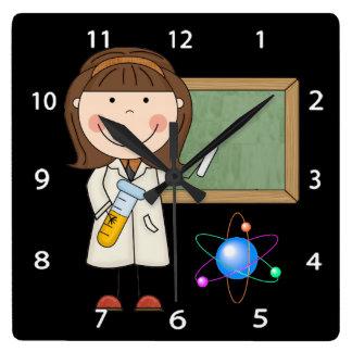 Science Wall Clock Wallclock