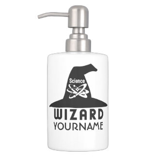 Science Wizard custom bathroom set
