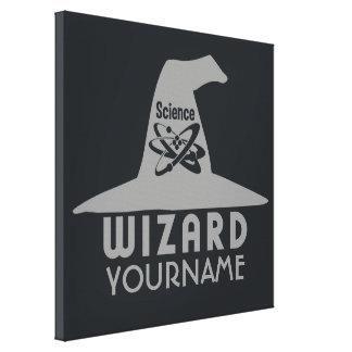 Science Wizard custom canvas print