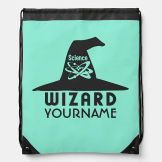 Science Wizard custom color bag