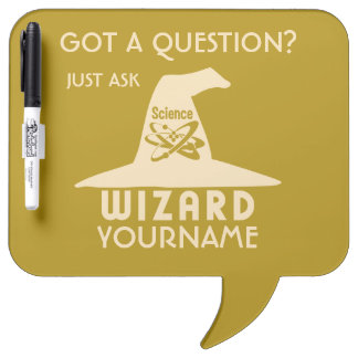 Science Wizard custom color message board Dry Erase Whiteboards