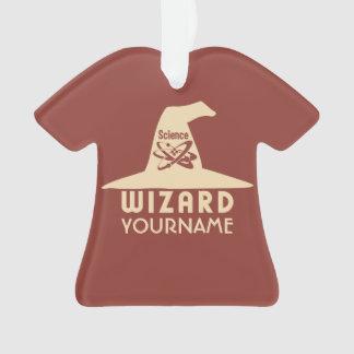 Science Wizard custom color ornament