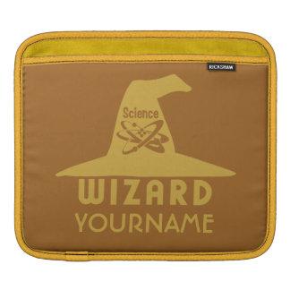 Science Wizard custom iPad sleeve