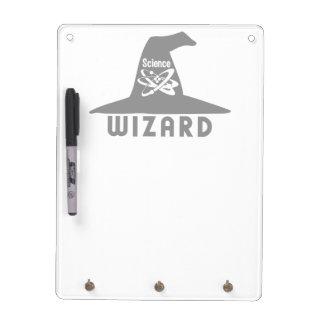 Science Wizard custom message board