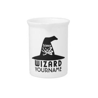 Science Wizard custom pitcher
