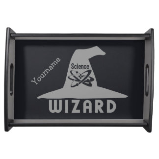 Science Wizard custom serving tray