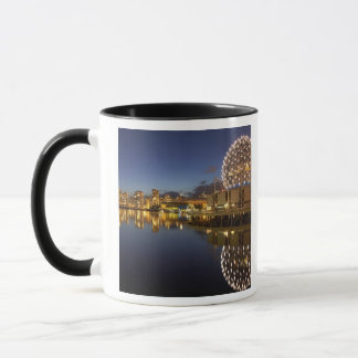 Science World and CBD reflected in False Creek, Mug