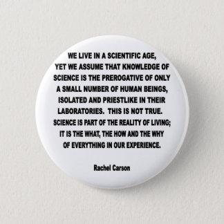 scientific age 6 cm round badge