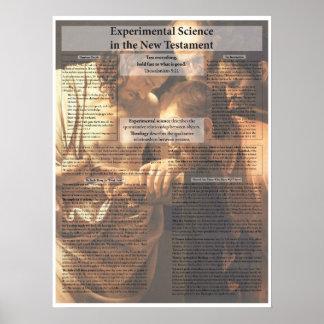Scientific Experiment in the New Testament Poster