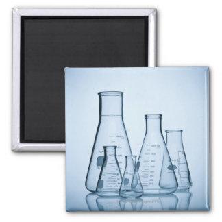 Scientific glassware blue magnet