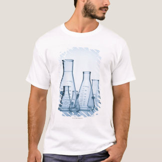 Scientific glassware blue T-Shirt