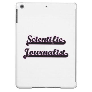 Scientific Journalist Classic Job Design Cover For iPad Air