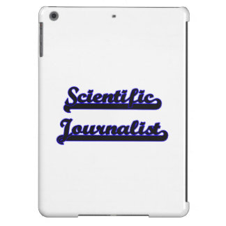 Scientific Journalist Classic Job Design iPad Air Cases