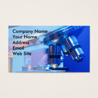 Scientific Microscope Business Card