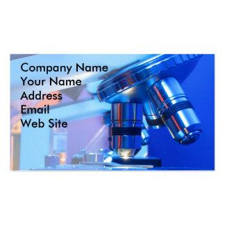 Scientific Microscope Business Card