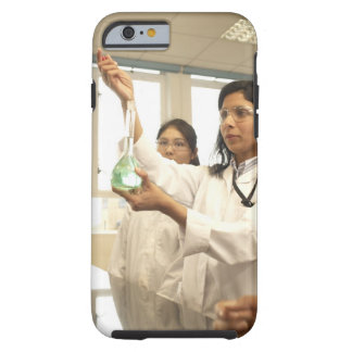 Scientist adding solution to beaker tough iPhone 6 case
