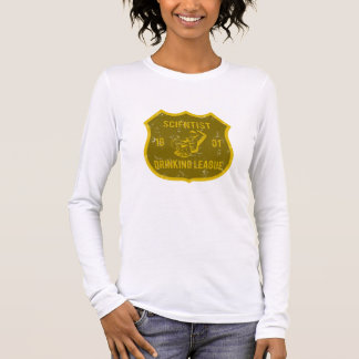 Scientist Drinking League Long Sleeve T-Shirt