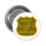 Scientist Drinking League Pins