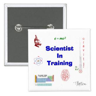 Scientist in Training Button