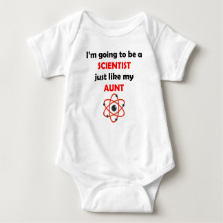 Scientist Like My Aunt Baby Bodysuit