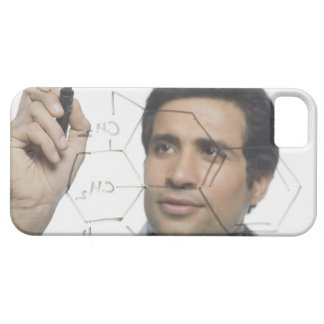 Scientist writing chemical formula 2 case for the iPhone 5