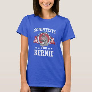 SCIENTISTS FOR BERNIE SANDERS T-Shirt