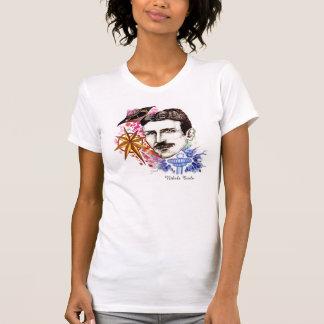 Scientists Series Collection: Nikola Tesla Tee Shirt
