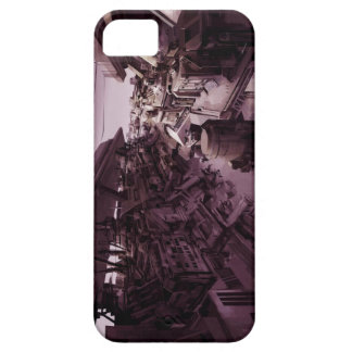 Scifi Art abandoned city iPhone 5 Cases