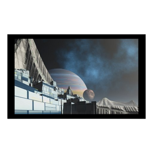 SciFi City Posters
