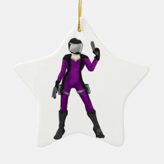 Scifi COP Ceramic Star Decoration