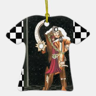 SciFi Fantasy Star Princess Warrior CricketDiane Christmas Ornament