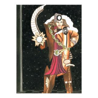 SciFi Fantasy Star Princess Warrior CricketDiane Invitation