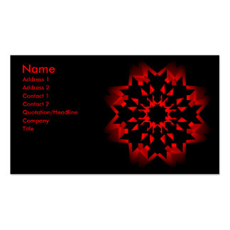 SciFi Rose Card Double-Sided Standard Business Cards (Pack Of 100)