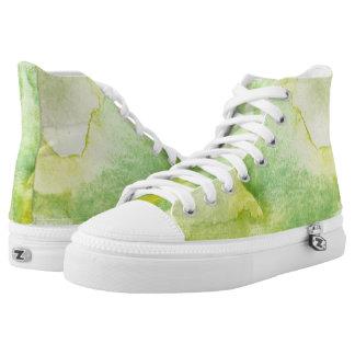 Scintilla Hi Top Printed Shoes