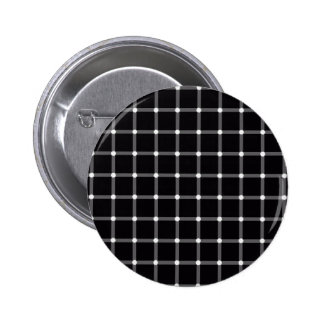 scintillating_grid 6 cm round badge