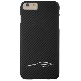 Scion FR-S white brushstroke on Faux Carbon Fiber Barely There iPhone 6 Plus Case