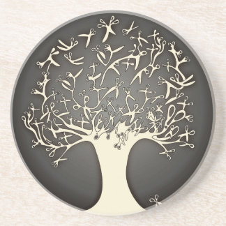 scissor tree coasters