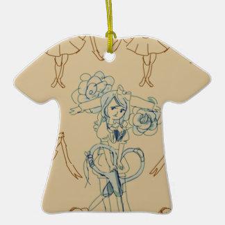 scissors ceramic T-Shirt decoration