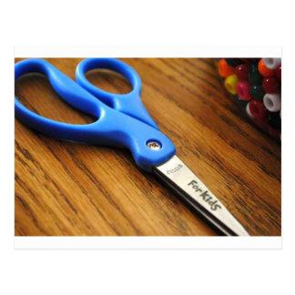 Scissors Postcard