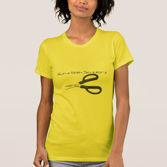 scissors, Runs With Scissors T-Shirt