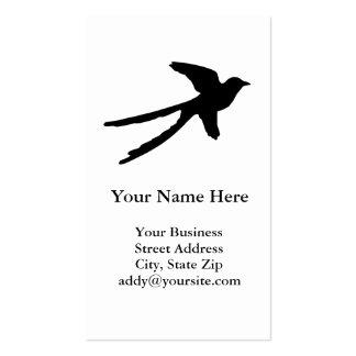 Scissortail Flycatcher Business Card Template