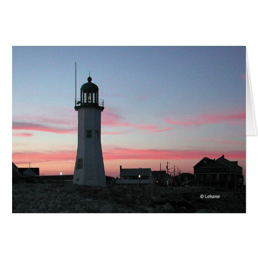 Scituate light--thank you card