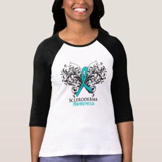 Scleroderma Awareness Butterfly Tshirt
