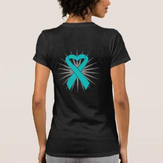 Scleroderma Awareness Heart Ribbon T-shirt