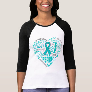 Scleroderma Awareness Heart Words Tees