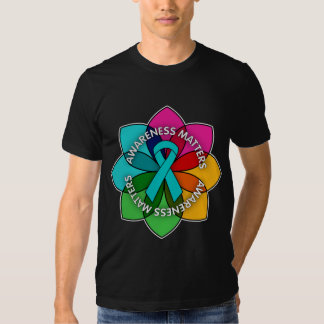 Scleroderma Awareness Matters Petals Tee Shirt